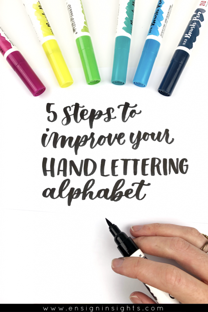 5 Steps to Improve Your Hand Lettering Alphabet