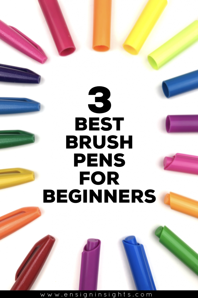 the best brush pens for hand lettering beginners