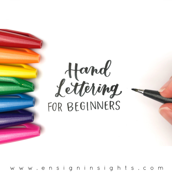 Hand Lettering for beginners online course