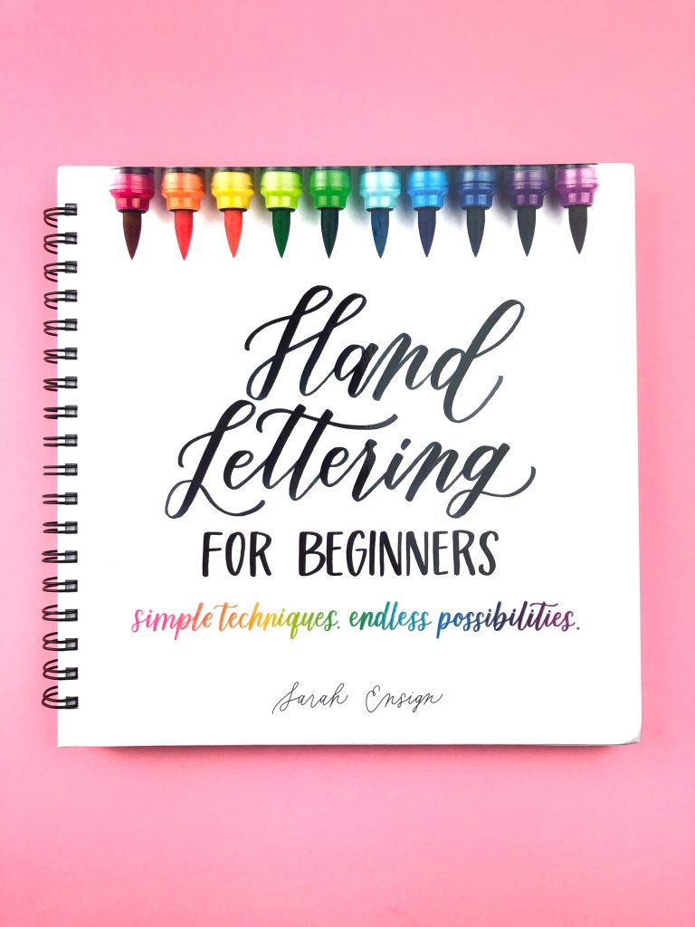 hand lettering tutorials; Ensign Insights; modern calligraphy; hand lettering for beginners; hand lettering book; how to hand letter;