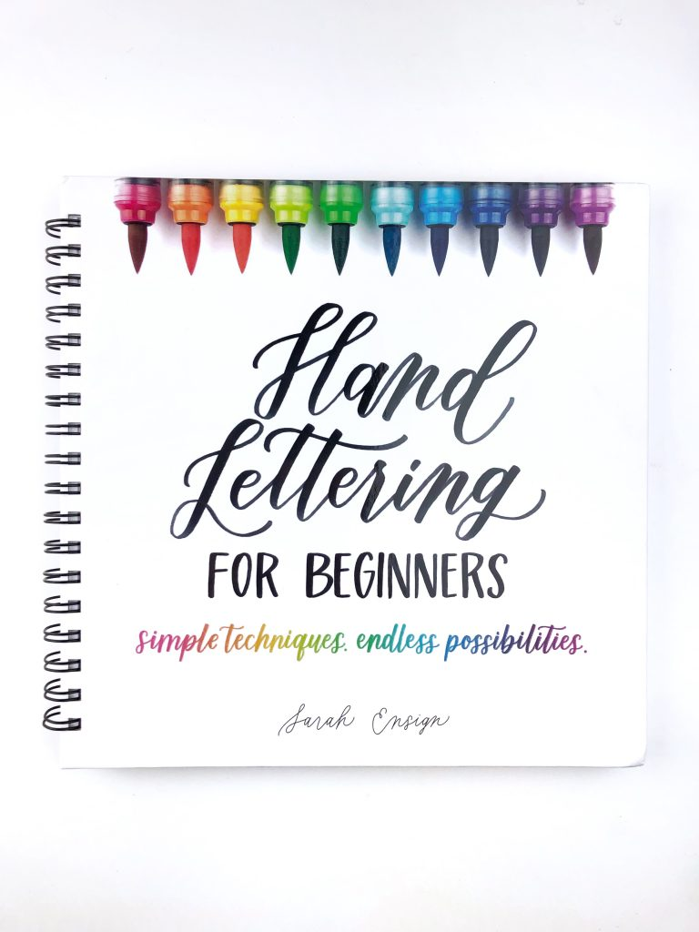 ensign insights; learn hand lettering for beginners; Conquering Imposter Syndrome When Beginning to Learn How To Hand Letter; how to feel good about your hand lettering; sarah ensign