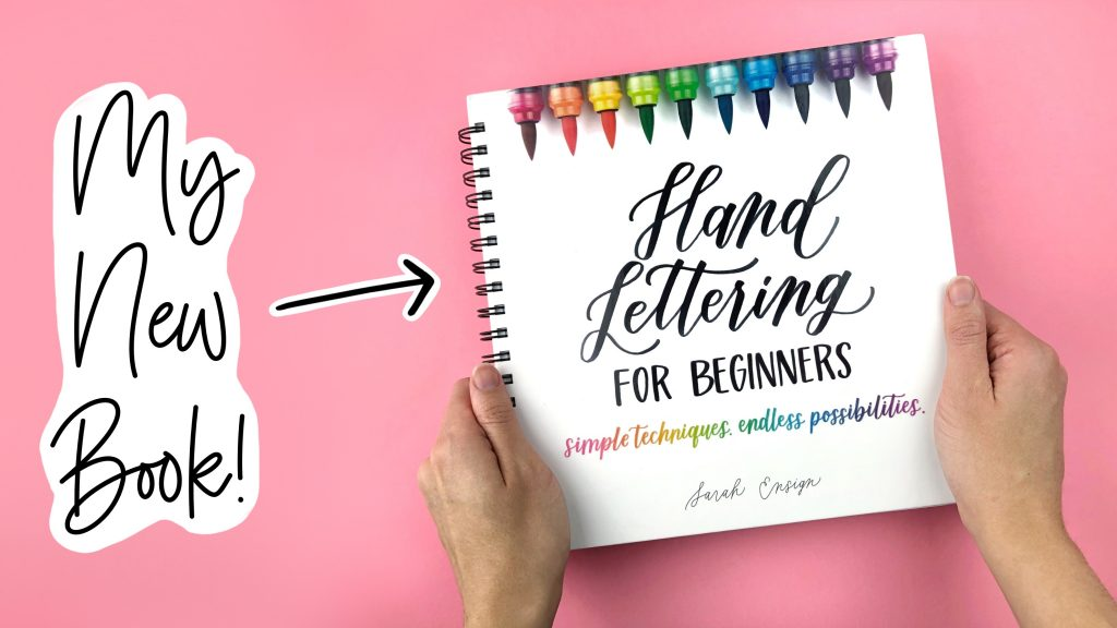 My New Book, Hand Lettering for Beginners