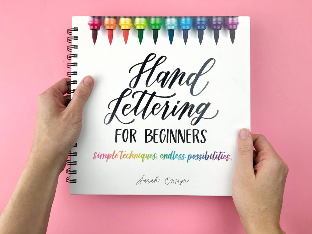Hand Lettering for Beginners book